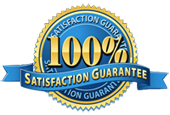 100% guaranteed logo