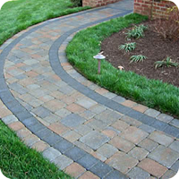 Decorative brick pavers